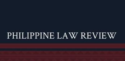 Philippine Law Review 2020-2021 Training Program